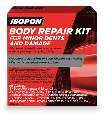 Body Repair Kit For Minor Dents And Damage